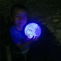 3D Лампа луна, фото 10