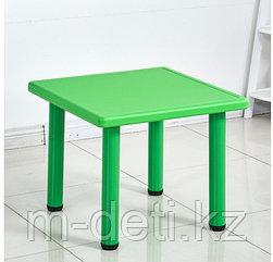 Столик пластиковый квадратный детский Рубик HD402 HUADONG