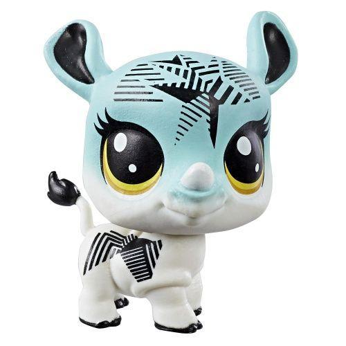 Hasbro Littlest Pet Shop Носорог Sapphire Rhinostar (1 серия)