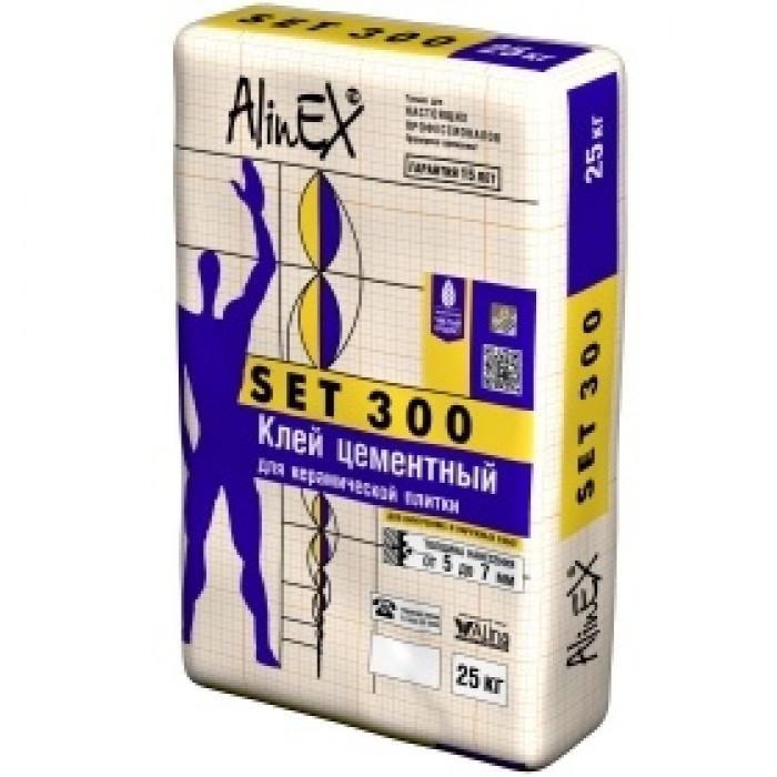 Клей цементный AlinEX SET 300
