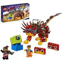 Конструктор Lego Movie 2 70827 Конструктор 2 Ультра-Киса и воин Люси, фото 1