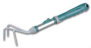 Рыхлитель садовый RACO, 3 зубца, коннекторная система, 43см