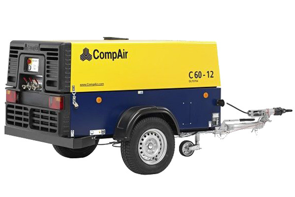 Компрессор дизельный CompAir C60-12