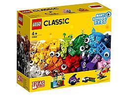 11003 Lego Classic Кубики и глазки, Лего Классик