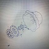 Трубка рабочего цилиндра сцепления SUZUKI GRAND VITARA JB420 , фото 4