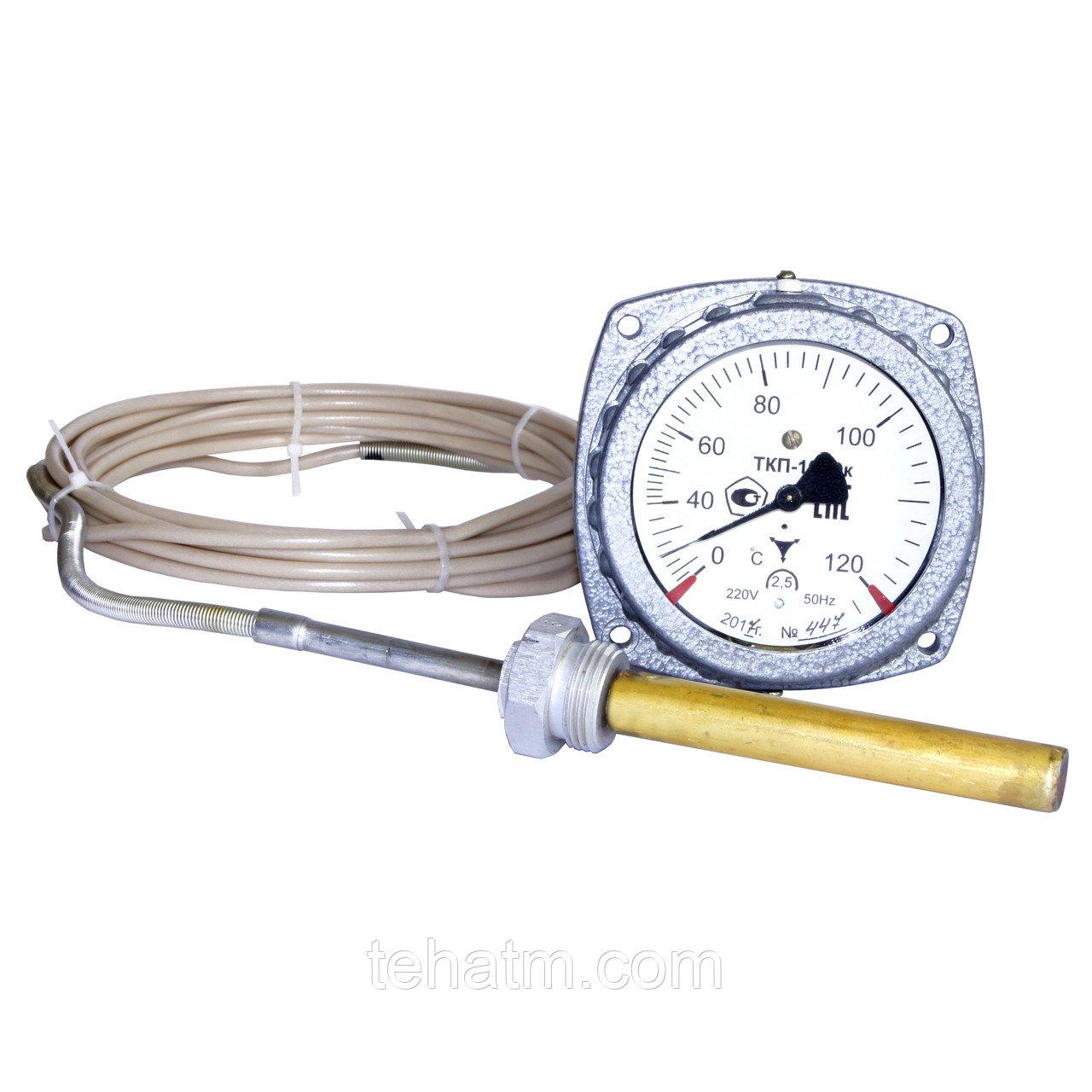 Термометр манометрический, конденсационный, показывающий, электроконтактный ТКП-100Эк