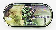 Чехол на молнии с картинкой PSP Slim 2000/3000 Case picture, Halo 3, фото 1