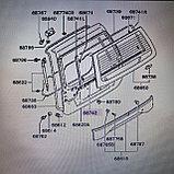 Уплотнитель стекла задней багажной двери MONTERO SPORT K96W, фото 4