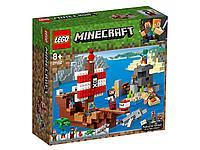 21152 Lego Minecraft Приключения на пиратском корабле, Лего Майнкрафт