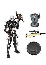 "Fortnite Коллекционная Фигурка ""Скелет"" (Skull Trooper), Фортнайт"