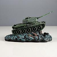 "Копилка ""Танк Т-34"" зелёная"