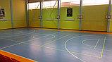 Монтаж спортивного покрытия Taraflex Multi Use 6.2, фото 2