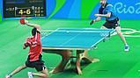Монтаж спортивного покрытия Taraflex Table Tennis, фото 2