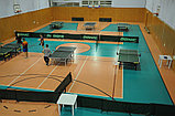 Монтаж спортивного покрытия Taraflex Table Tennis, фото 3