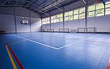 Монтаж спортивного покрытия Taraflex Recreation 45, фото 3