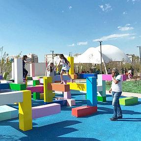 Детский парк EXPO-2017, г. Астана, 2017г. 2