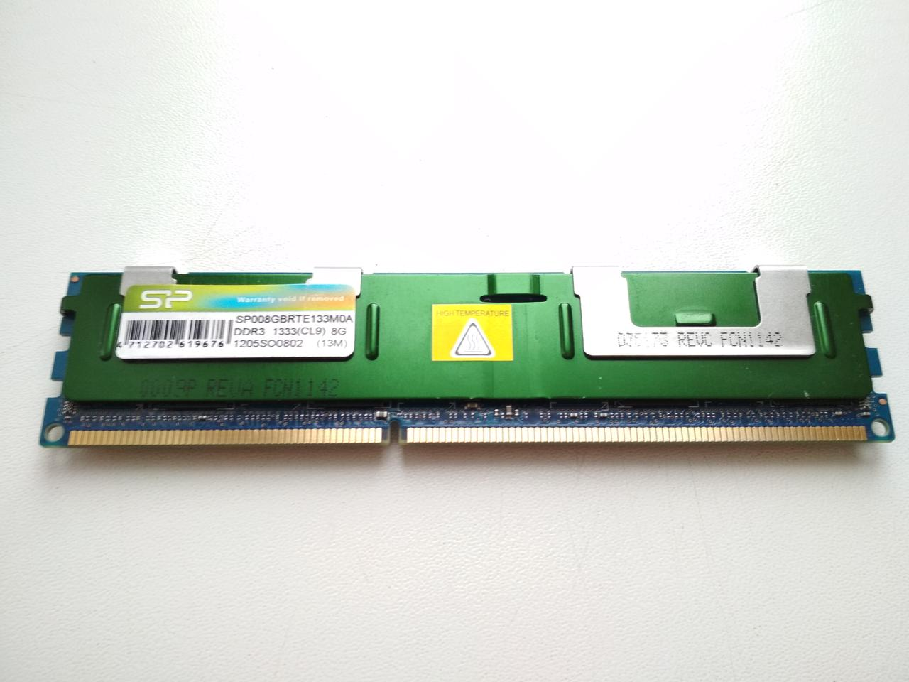 DDR3-1333 8Gb ECC Silicon Power Register