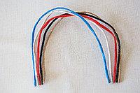 Шнуры из крафта с пластиковыми фиксаторами, длиной 35 см