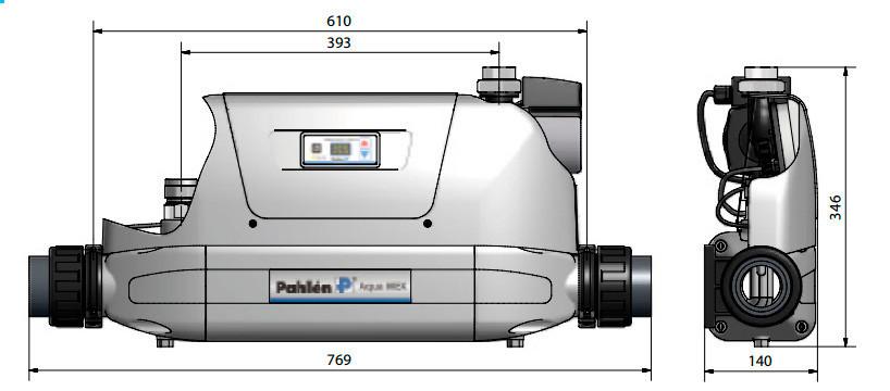 Теплообменник Aqua MEX FE 70 kW (нержавеющая сталь) - фото 4