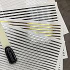 Эластичные полоски для дизайна (серебро), фото 2