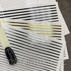 Эластичные полоски для дизайна (белые)