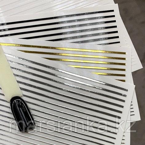 Эластичные полоски для дизайна (черные), фото 2