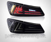 Задние фонари на Lexus IS 2006-12 Дымчатые