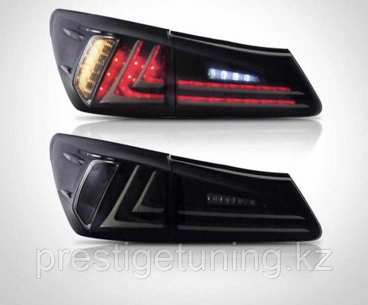 Задние фонари Lexus IS 2006-12 Black color