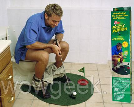 Гольф для туалета-Toilet Golf