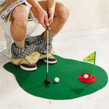 Гольф для туалета-Toilet Golf, фото 2
