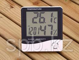Цифровой термометр с гигрометром HTC-1