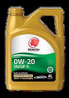 Моторное масло IDEMITSU 0W-20 4литр, фото 1