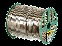 Трос стальной в полимерной оболочке, d=5,0 мм, L=100 м, STAYER