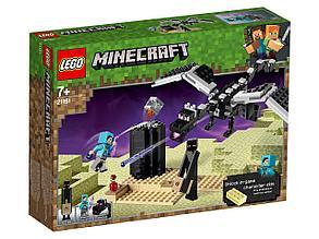 21151 Lego Minecraft Последняя битва, Лего Майнкрафт