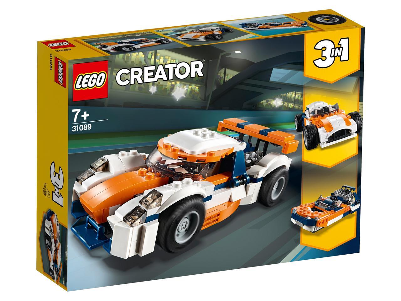 31089 Lego Creator Оранжевый гоночный автомобиль, Лего Криэйтор