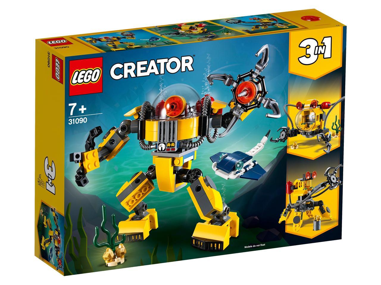 31090 Lego Creator Робот для подводных исследований, Лего Криэйтор