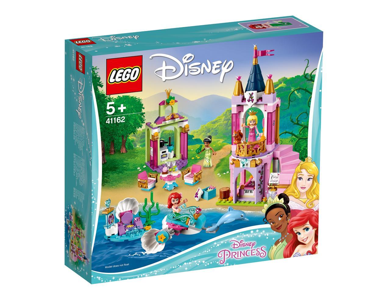 41162 Lego Disney Princess Королевский праздник Ариэль, Авроры и Тианы, Лего Принцессы Дисней