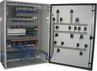 ШУ 2КНС 0110-...0150-380-П-Y/Δ,шкаф управления для двух погружных канализ-ных насосов(пуск звезда-треугольник)