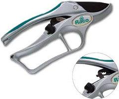 Секатор RACO с алюминиевыми рукоятками, храповый механизм, 200мм