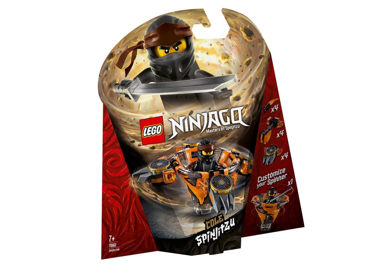 70662 Lego Ninjago Коул: мастер Кружитцу, Лего Ниндзяго
