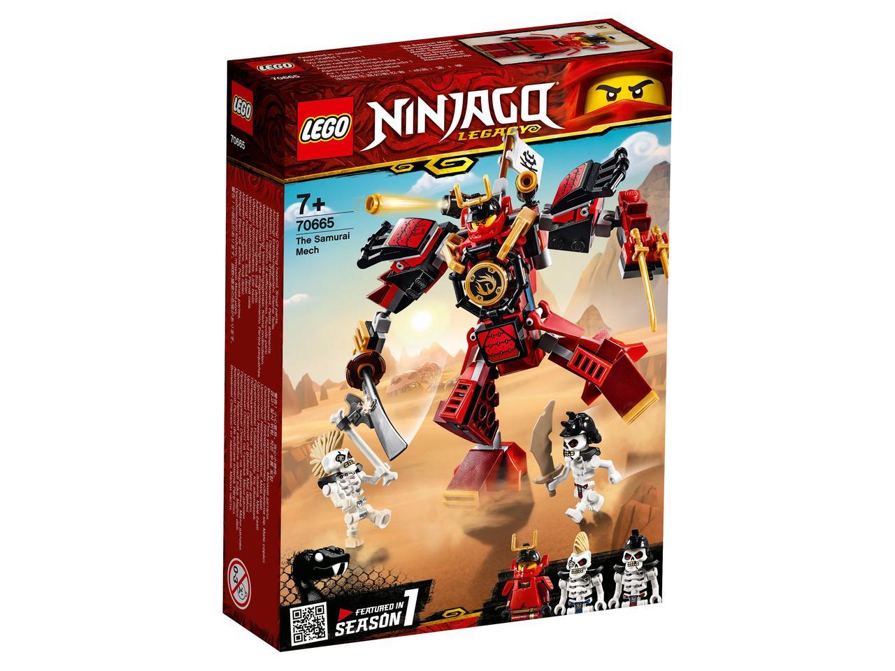 70665 Lego Ninjago Робот-самурай, Лего Ниндзяго