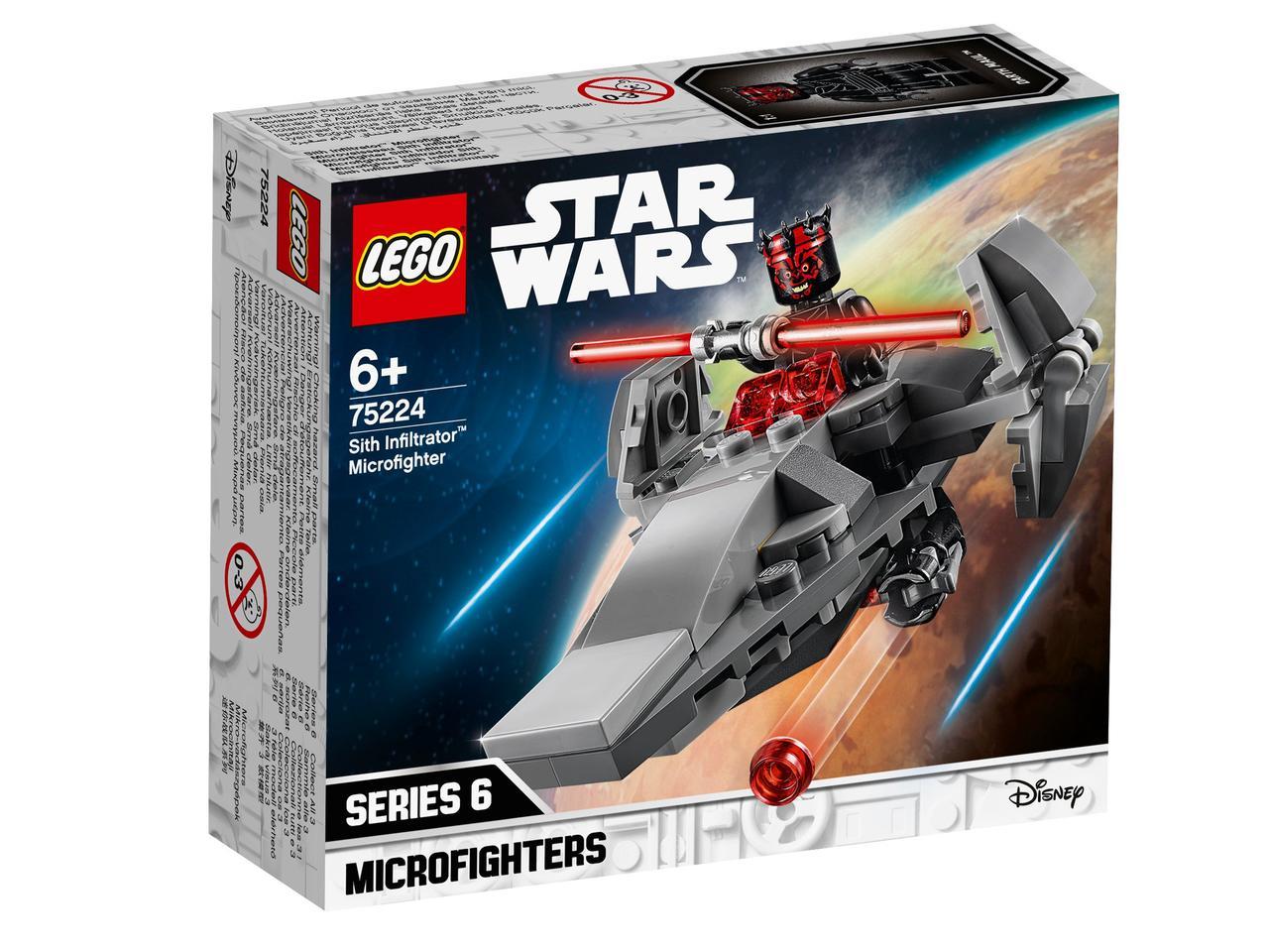 75224 Lego Star Wars Микрофайтеры: Корабль-лазутчик ситхов™, Лего Звездные войны