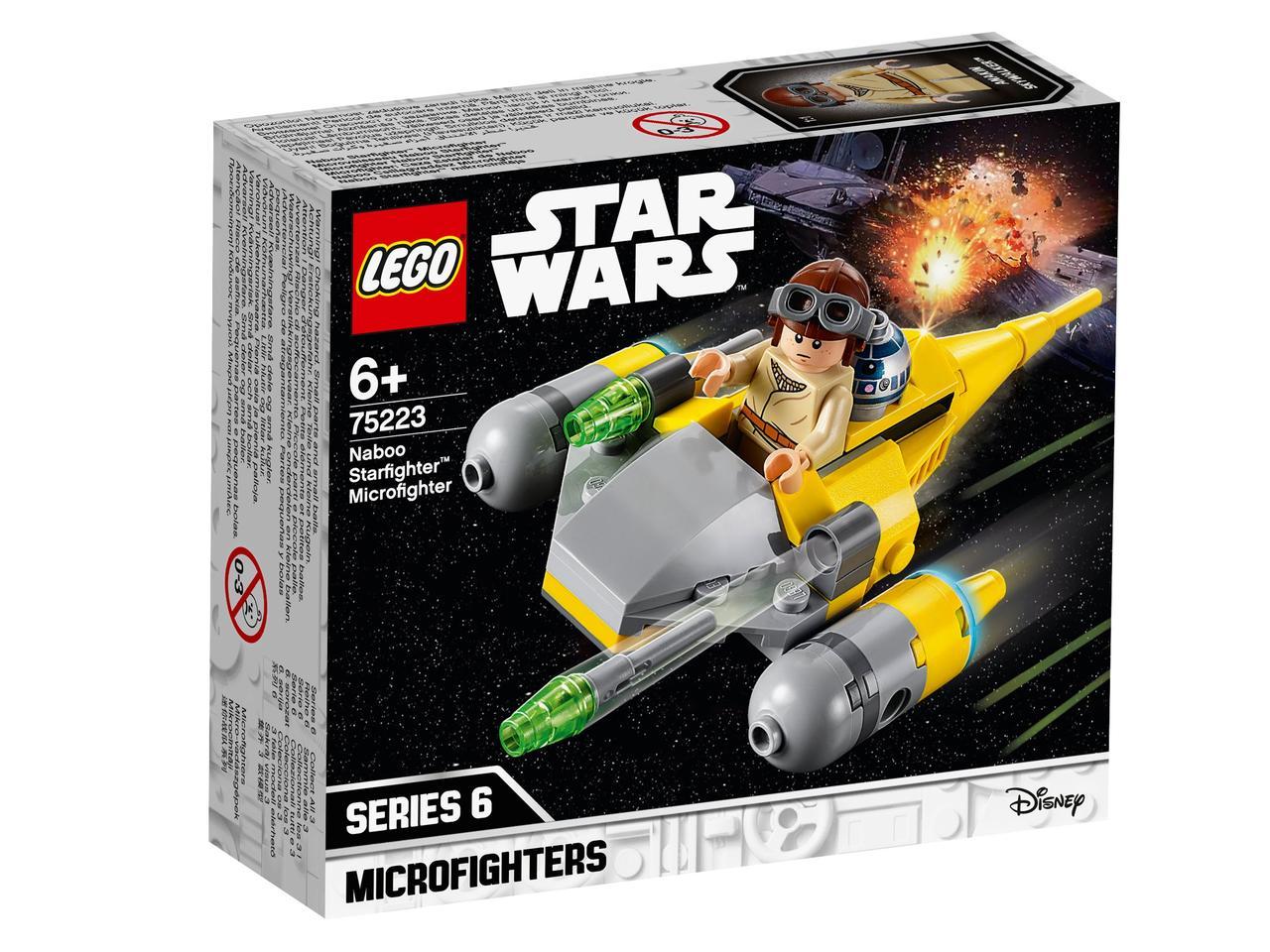 75223 Lego Star Wars Микрофайтеры: Истребитель с планеты Набу™, Лего Звездные войны