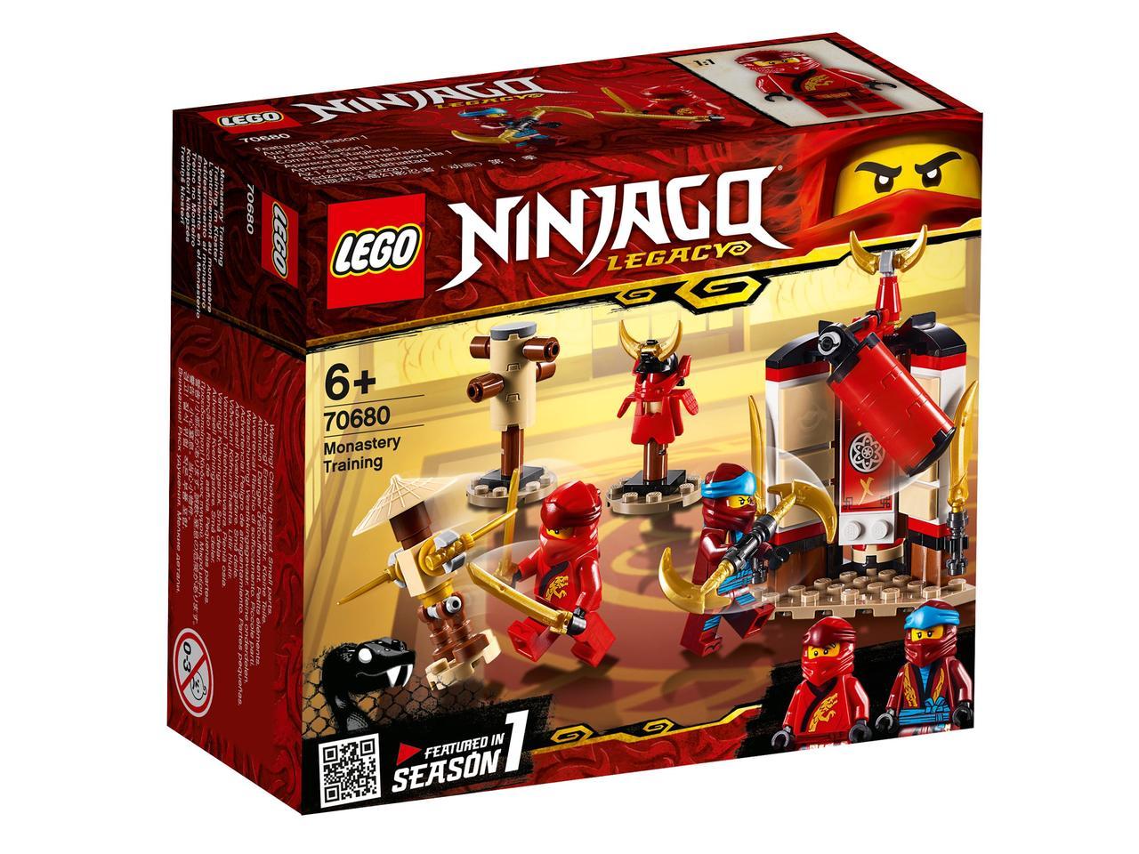 70680 Lego Ninjago Обучение в монастыре, Лего Ниндзяго