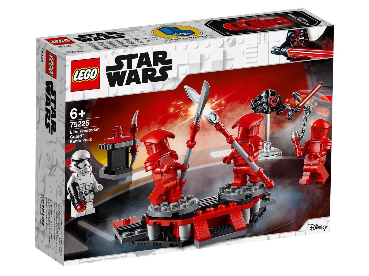 75225 Lego Star Wars Боевой набор Элитной преторианской гвардии™, Лего Звездные войны