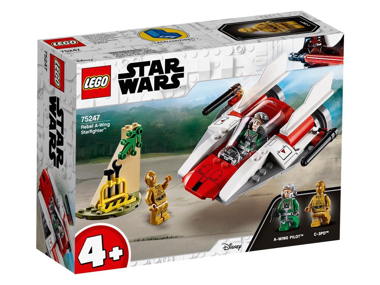 75247 Lego Star Wars Звёздный истребитель типа А™, Лего Звездные войны