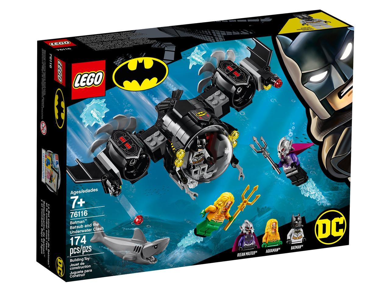 76116 Lego Super Heroes Подводный бой Бэтмена™, Лего Супергерои DC
