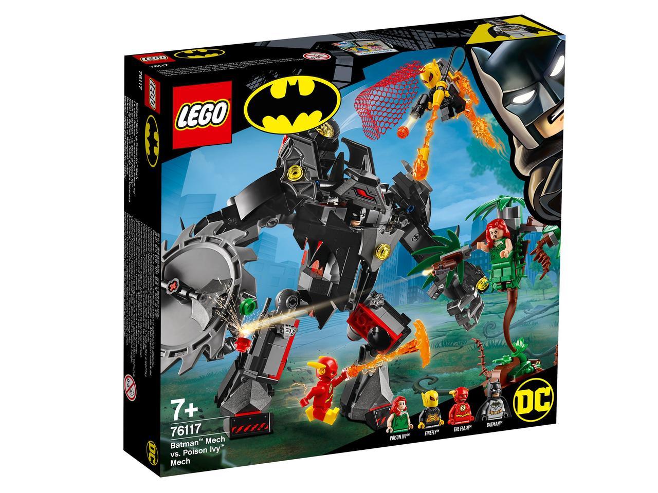 76117 Lego Super Heroes Робот Бэтмена против робота Ядовитого Плюща™, Лего Супергерои DC