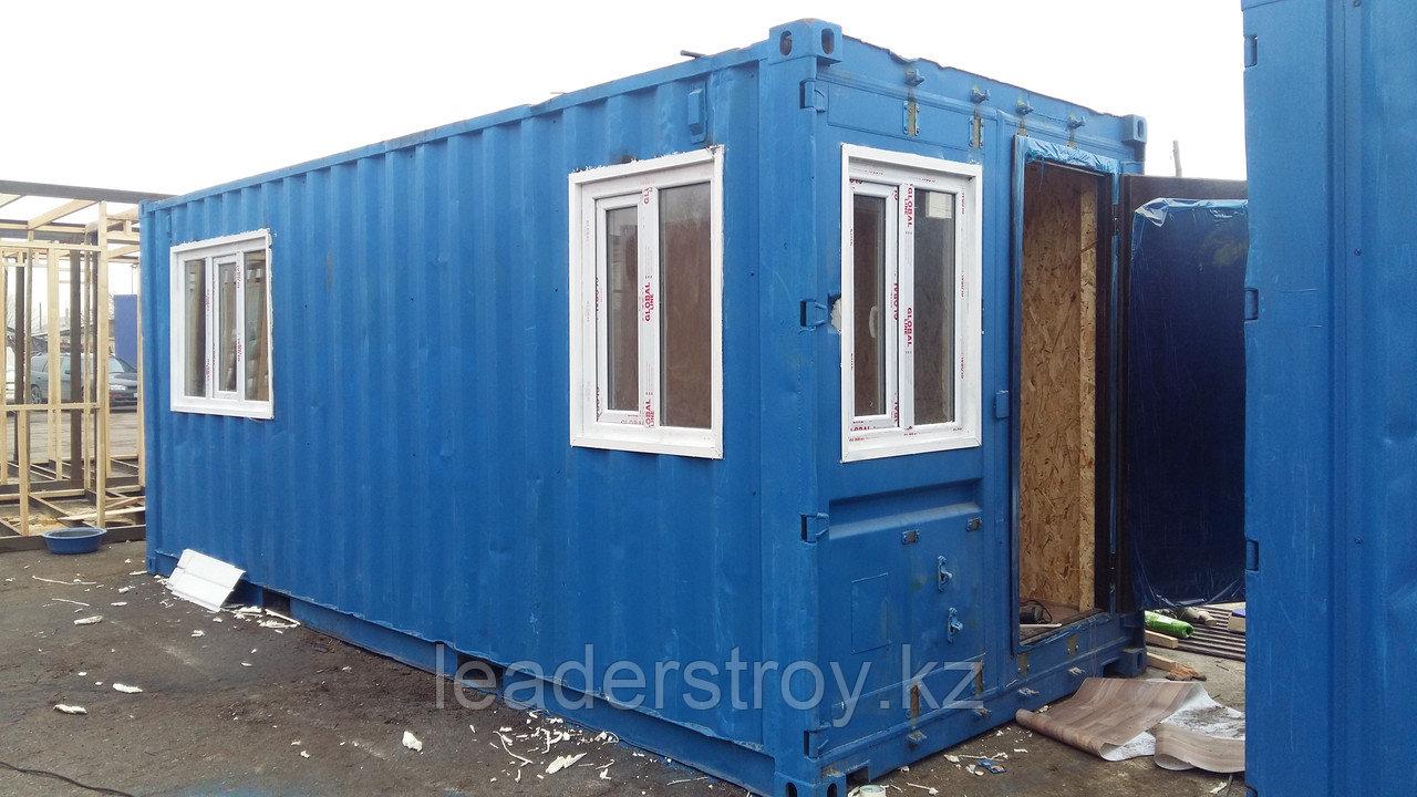 Модульное здание контейнерного типа 20ф