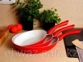 Набор керамических сковородок CERAMICORE ( В КОМПЛЕКТЕ 3 ШТ)